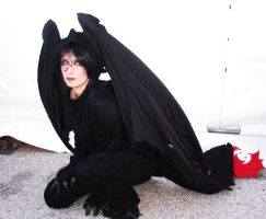 night fury cosplay by Alexielle87