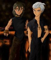 Lance and Pietro - Wanna Dance by duoshinigami