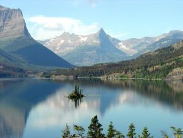 Wild Goose Island, Glacier NP by bssc