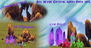 BS WoW Crystals Mesh Pack nr1. by BurnSightFH