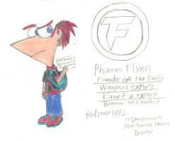 Phineas Flynn (Mysterious Dimension) by RedJoey1992