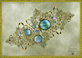 My opal brooch by AnnaKirsten