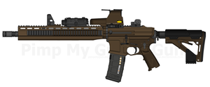 VCW 'Reaper' AR-15 by TastyJuice