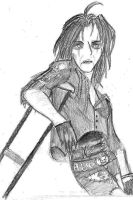 Another Alice Cooper Sketch by vampyrekittyomega