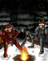 Adventurers Celebrate Xmas Too by XakariSL