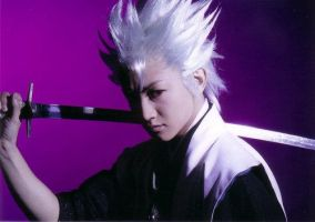 Bleach rock musical Hitsugaya by wolf-speaker9