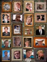 Robert Redford Wall of Aging by maxevry