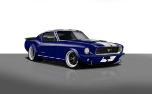 Mustang Redux by zvtdesigns
