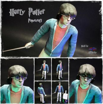 Harry Potter Papercraft by BRSpidey