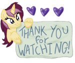 Thank You For Watching Me by SJArt117