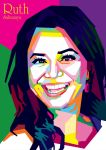 Ruth Sahanaya In WPAP by ARaFah