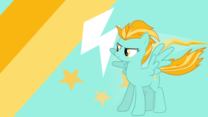 - Lightning Dust Wallpaper - by Ponyphile