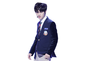 { (11012014) PNG/Render #106} D.O (EXO) by Larry1042k1