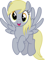 Vector #409 - Derpy Hooves #9 by DashieSparkle