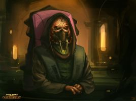 Star Wars The Old Republic - Master Gnost Dural by Hideyoshi