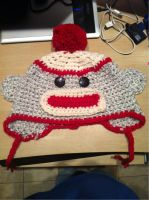 minion monkey sock hat by Nikky81
