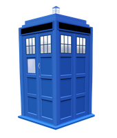 Tardis Vector by drawponies
