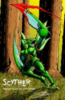 SCYTHER- Blood, Guts version by PaleHorseman12