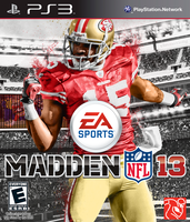 Madden NFL 13: Crabtree Cover by chronoxiong