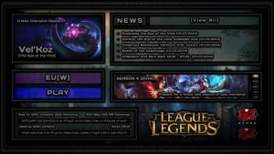 A Reimagining of the LoL Client 2 [Edits] by KlokwerkSolja