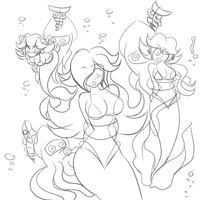 Princess Trio Caught by MegaGundamMan