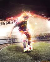 LEO MESSI by M-A-G-F-X-Graphic