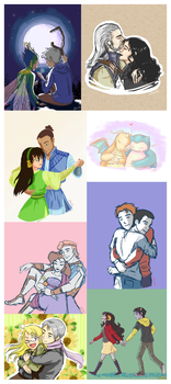Valentine's Requests! by siquia