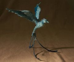 fantasy bird by melinaminotti