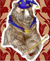 The magical wizard bear by twilitprincesses