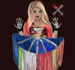 Extreme Rules 2017 - Women's Championship match by danny-l-art