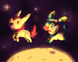 Jumping Over The Moon by MusicalCombusken