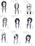 Boredom: Hair Ideas by KeeperOfCoffins