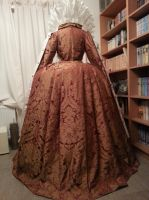 Backside of the Ditchley gown - Queen Elizabeth I by Firefly182