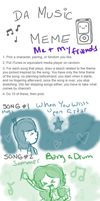 Music Meme- Me and Some Friends by TopHatical