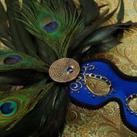 Mask- Peacock Blue by EffigyMasks