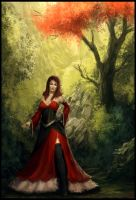 Red Dress- Speed Paint by Peter-Ortiz