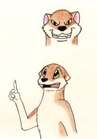 Stoat practice by MadOttsel