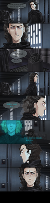 For Kylo Ren by Sn8fla