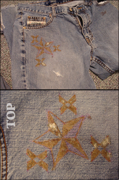 Sun Etched Jeans by theycallmeShua