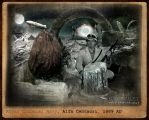 In a pith helmet, through the Galaxy by Steamborg1889