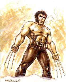 Coffee Follies 8: Wolverine by spacechili