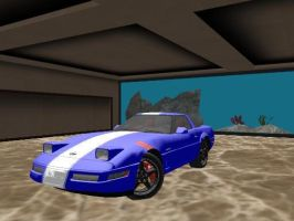 1996 Chevrolet Corvette Crand Sport +DL by sky-commander