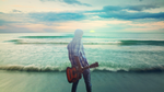 beach guitar by XLR8gfx