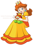 Princess Daisy CG by Pitahaya