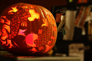 Fishy Pumpkin Carving by ItsJustin