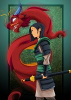 Mulan by WeaponXIX