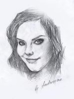 Anette Olzon by fantazyme