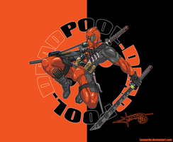 Deadpool Wallpaper by Lennardo