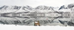 Panoramic Reflected Landscape by netrex