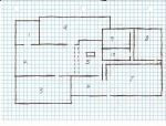 Rough layout of Zack Fursten's house by Kuwathen